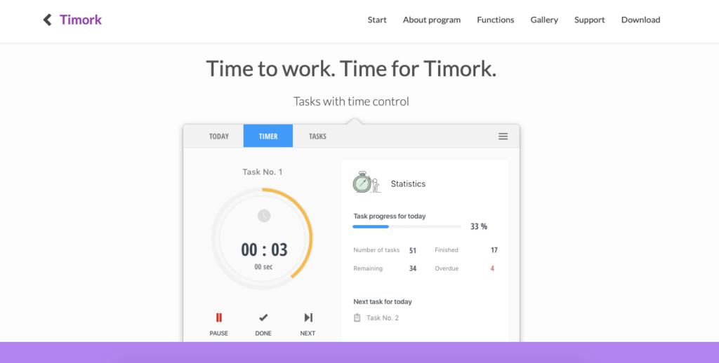 Timork - időmenedzsment