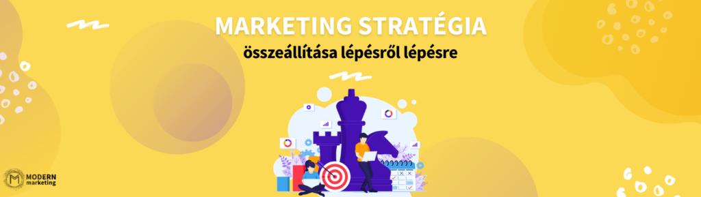 Marketing stratégia összeállítása lépésről lépésre