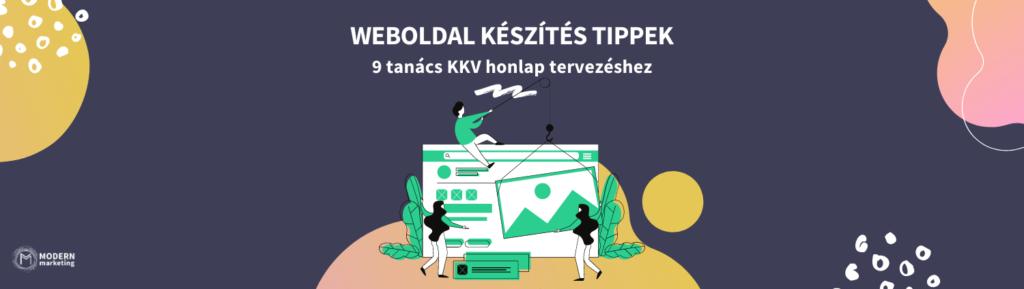 weboldal készítés tippek