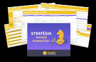 marketing stratégia munkafüzet