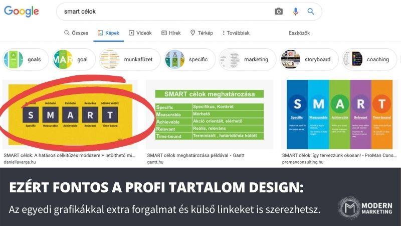 jó design és google helyezés