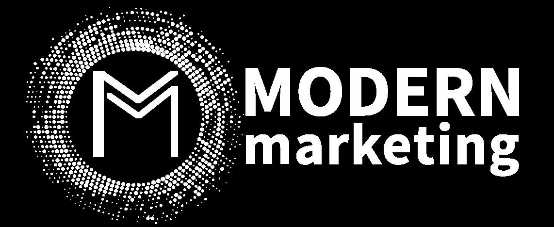 modern marketing logo