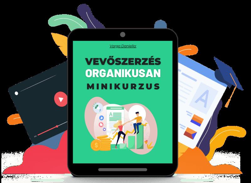 Vevőszerzés organikusan minikurzus